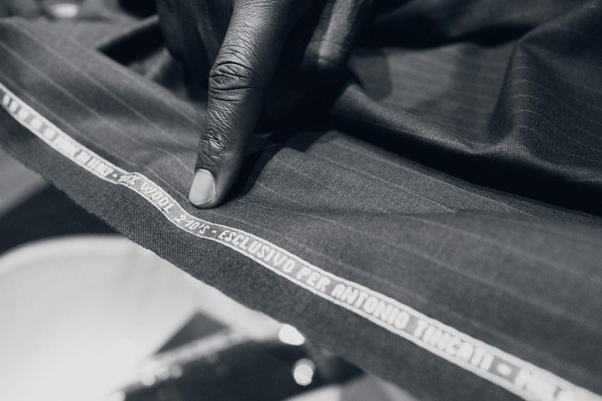 Custom made frabic woven, specially for Tincati